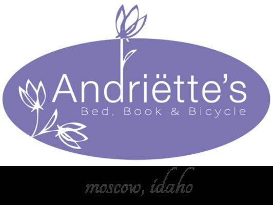 Andriette's website logo